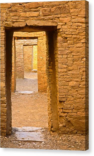 Doorway Chaco Canyon Canvas Print