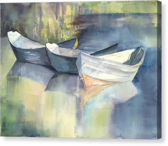 Dories I Canvas Print