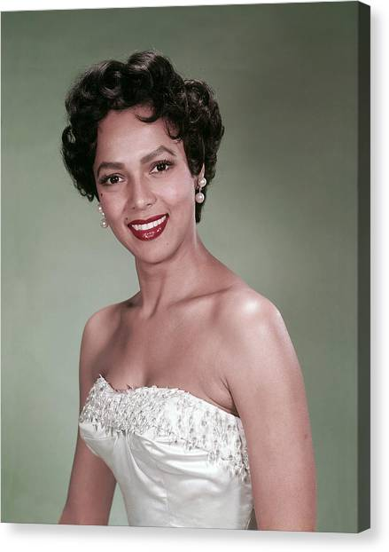 Dorothy Dandridge, 1954 Canvas Print by Everett