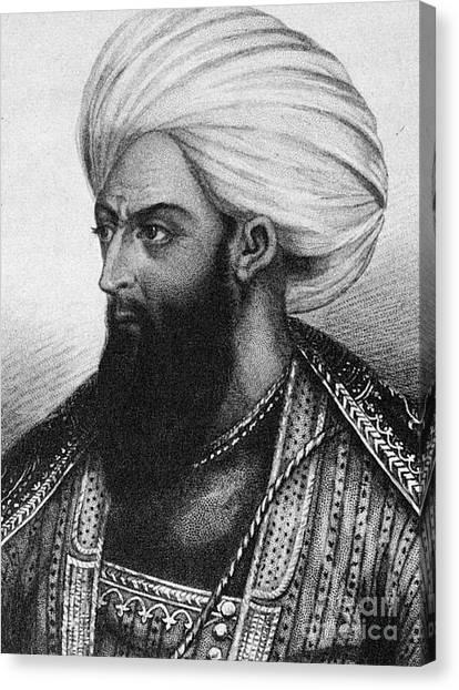 Emir Canvas Print - Dost Mohammad Khan by Granger