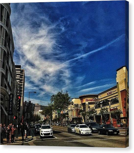 Hips Canvas Print - Downtown Glendale...#iphone #iphone4 by Loghan Call