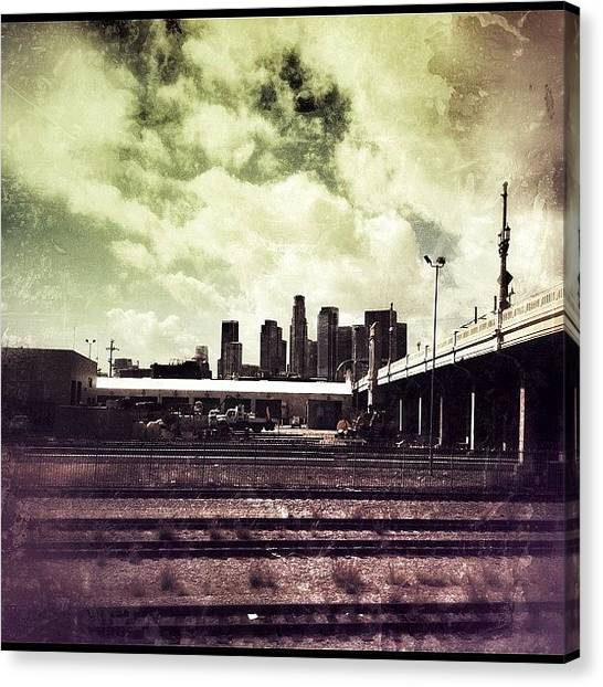 Hips Canvas Print - Downtown La, Nuff Said. #iphone by Loghan Call