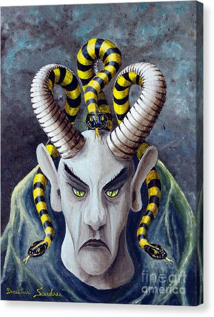 Dracu Mort From Arboregal Canvas Print