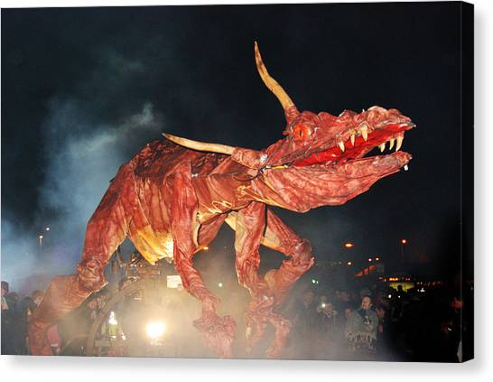 Canvas Print - Dragon 2 by Peter Jenkins