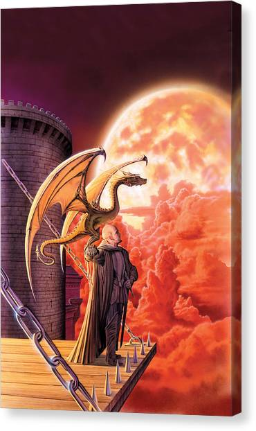 Dragon Canvas Print - Dragon Lord by The Dragon Chronicles - Robin Ko