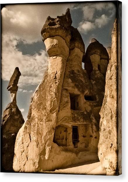 Pasabag Valley, Turkey - Dragon Rock Canvas Print