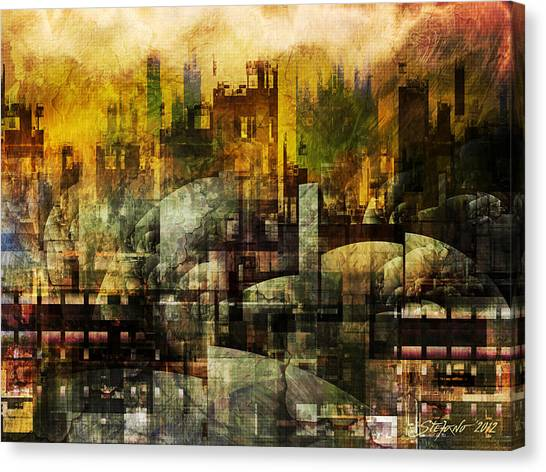Dream In A Dream II Canvas Print