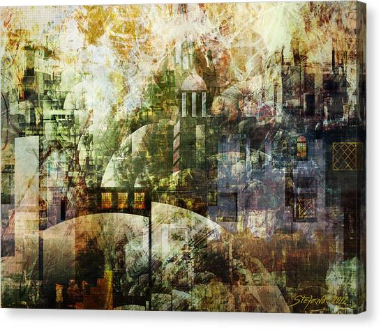 Dream In A Dream Canvas Print
