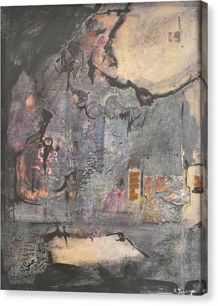 Dream In A Mid Summer Night Canvas Print by Ralph Levesque