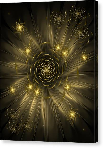 Dreaming Of Gold Canvas Print