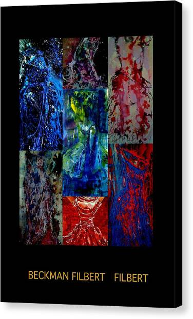 Dress Series Cover Canvas Print