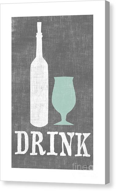 Drinks Canvas Print - Drink by Misty Diller