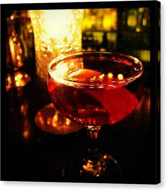 Liquor Canvas Print - Drink Of The Day...rum Punch. #dotd by Mary Carter