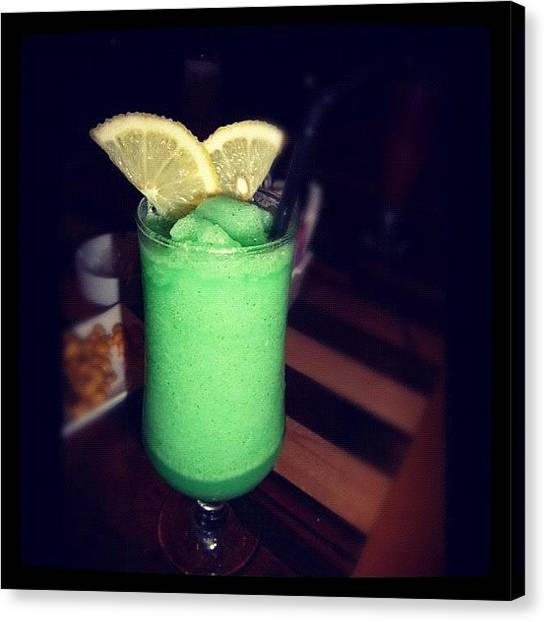 Lemons Canvas Print - #drinks #drinking #thirsty #tasty by Shahd Abbasi