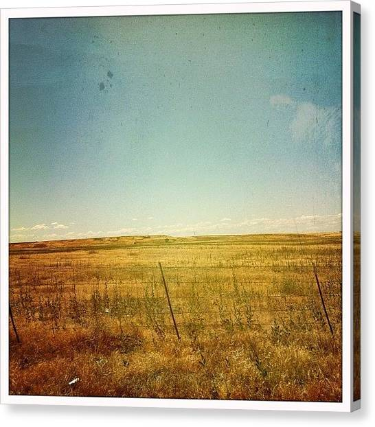 Driving Canvas Print - #driving by Bruce Ellingwood