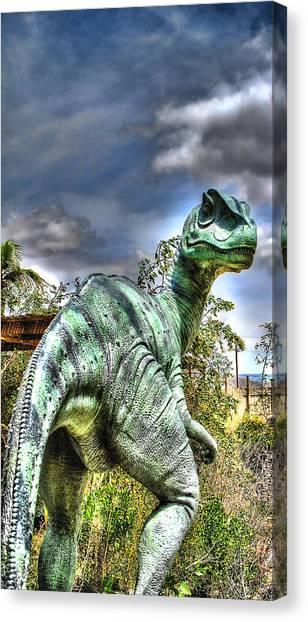 Dromaeosauridae Canvas Print