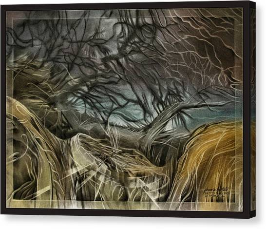 Drytreescape 2009 Canvas Print