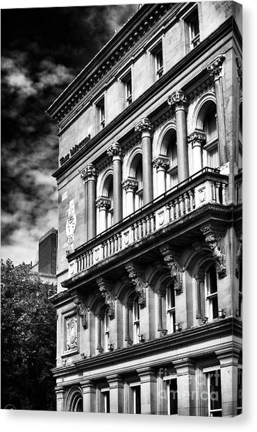 Dublin Architecture Canvas Print by John Rizzuto