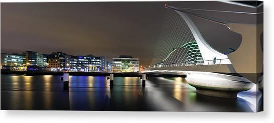 Dublin City Canvas Print by Brendan O Neill