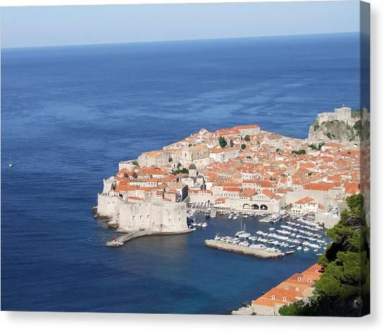 Dubrovnik Former Yugoslavia Croatia Canvas Print