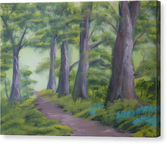 Duff House Path Canvas Print