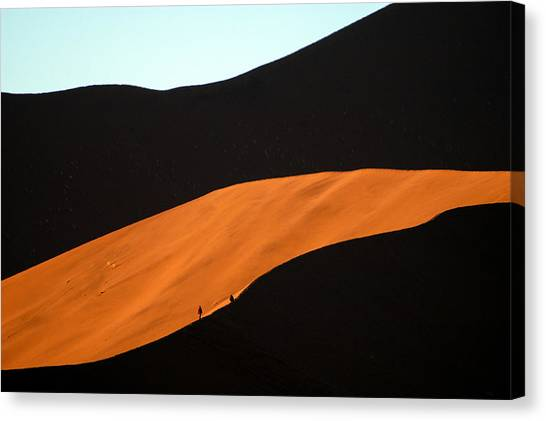 Dune Tunnel Canvas Print