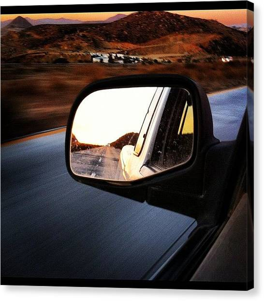 Ford Canvas Print - Dusk by Andy Diaz