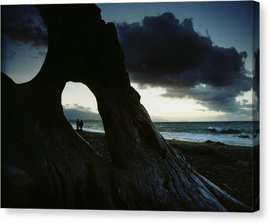 Dusk At Dungeness Canvas Print