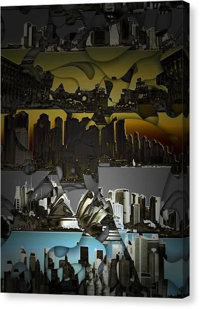 Dusk To Dawn Canvas Print