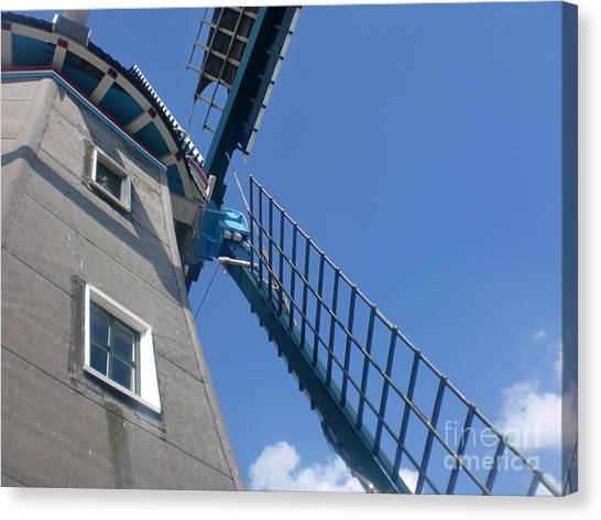 Dutch Windmill Canvas Print by Anastasis  Anastasi