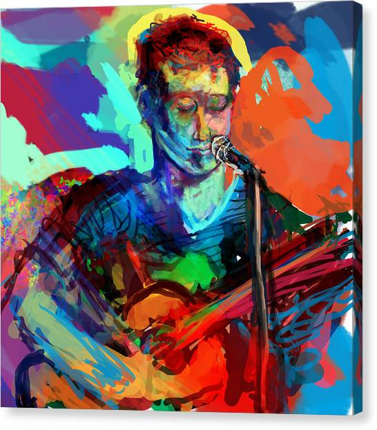 Dylan's Performance Canvas Print by James Thomas