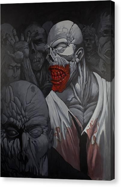 E Pluribus Unum Canvas Print by Jake Perez
