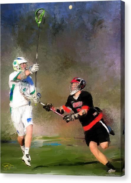 Eagan Defense Canvas Print by Scott Melby