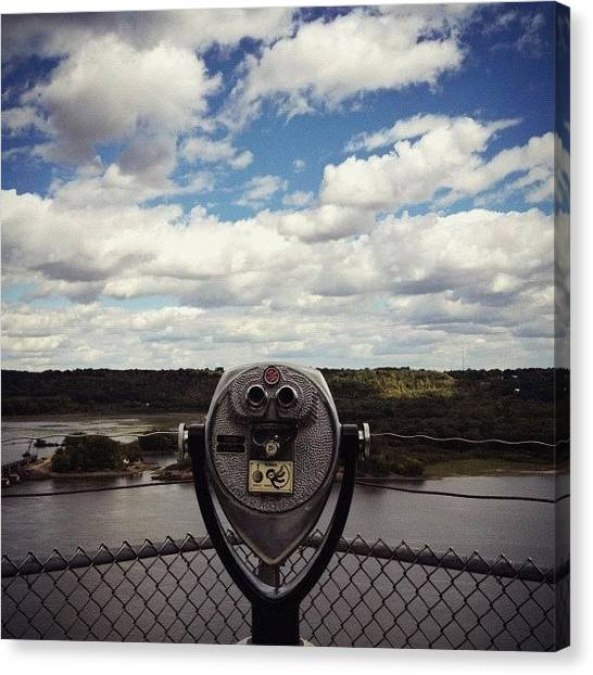 Iowa Canvas Print - Eagle Point Park | Dubuque, Ia by Ivan Vega