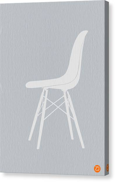 Chairs Canvas Print - Eames Fiberglass Chair by Naxart Studio