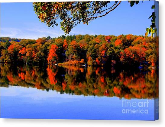 Early Fall Canvas Print