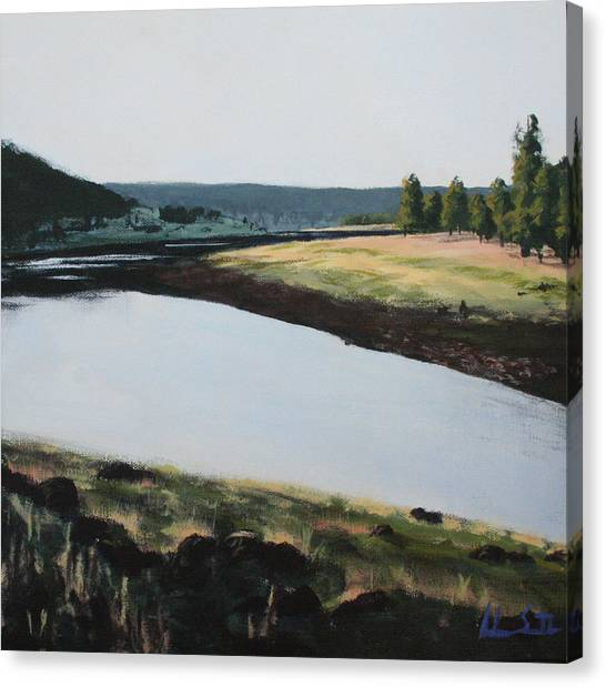 Adam Smith Canvas Print - Early Morning by Adam Smith