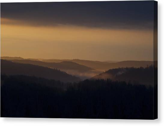 Early Morning Sunrise Canvas Print