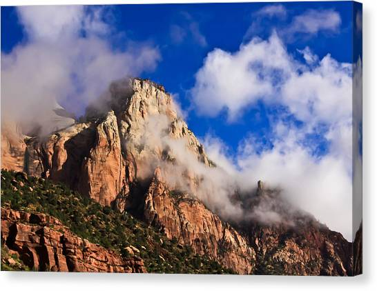 Early Morning Zion National Park Canvas Print