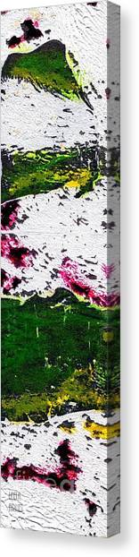 Earth And Snow Canvas Print