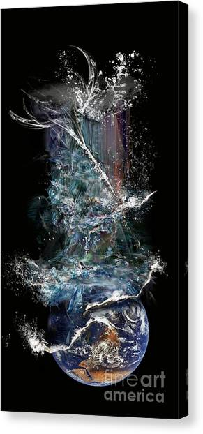 Earth's Ascension Canvas Print