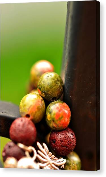 Earthy Stones  Canvas Print