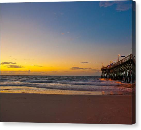 East Coast Sunrise Canvas Print