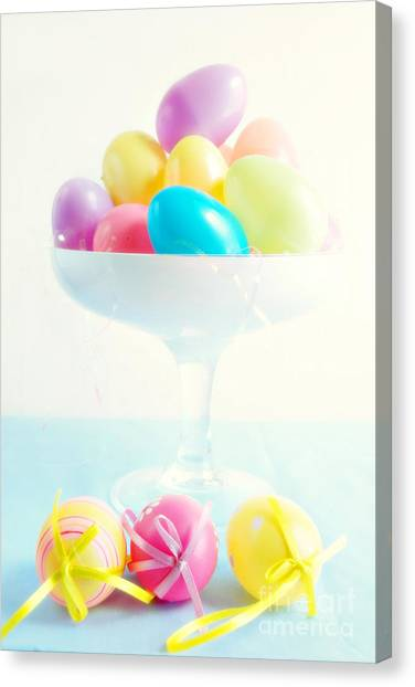 Easter Eggs Canvas Print - Easter by HD Connelly