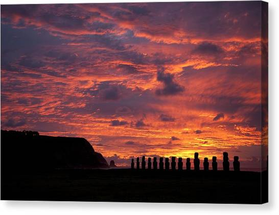 Easter Island Canvas Print - Easter Island by Easter Island