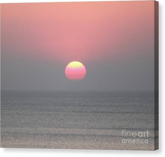 Easter Sunrise Canvas Print by Marilyn West