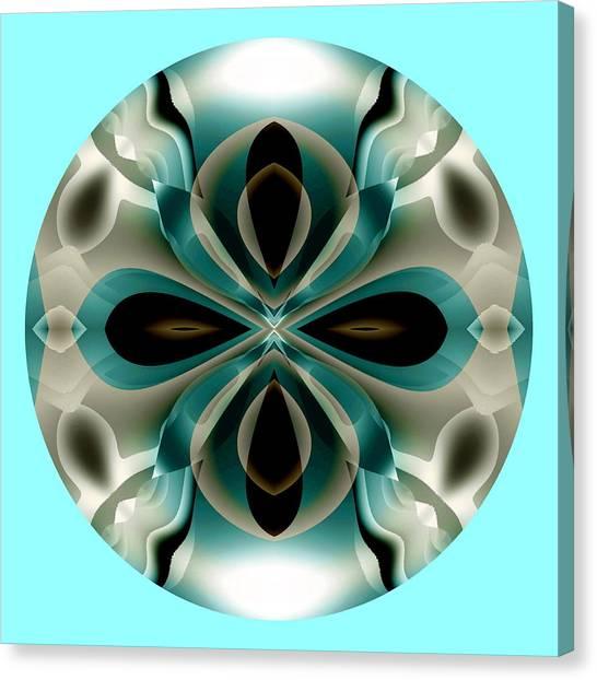 Canvas Print featuring the digital art Easter by Visual Artist Frank Bonilla