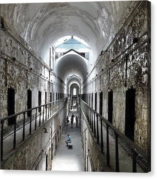 Philadelphia Canvas Print - Eastern State Penitentiary by Asaf S