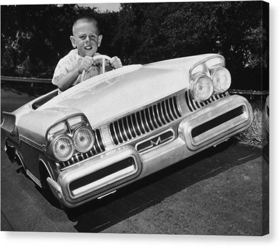 Easy Driver Canvas Print by Archive Photos