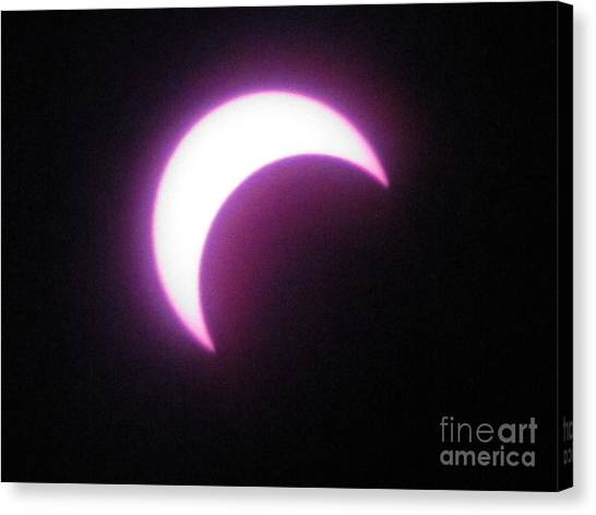 Eclipse9 2012 Canvas Print